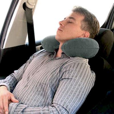 Надувная подушка под шею