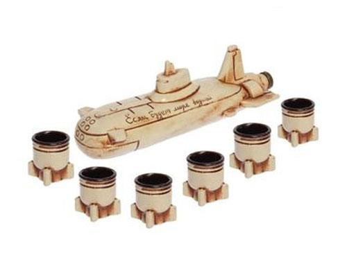 Штоф Подводная лодка