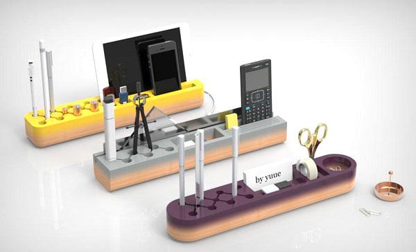 Стильный органайзер на рабочий стол