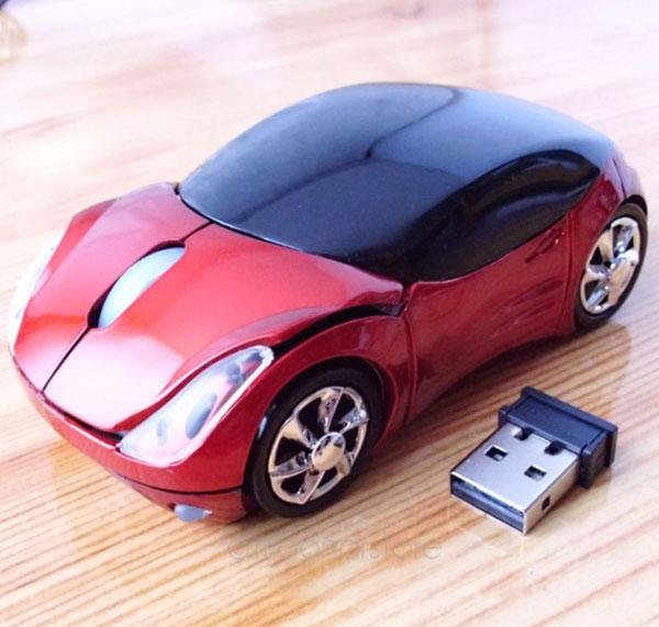 Компьютерная мышь - автомобиль