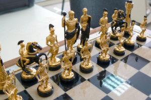 Шахматы в эксклюзивном исполнении