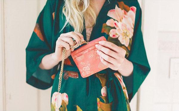 Женский халат-кимоно