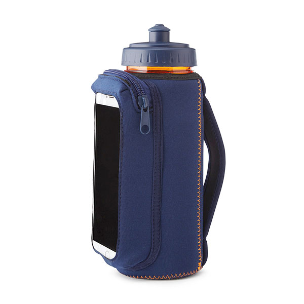 Фитнес-бутылка с держателем для телефона