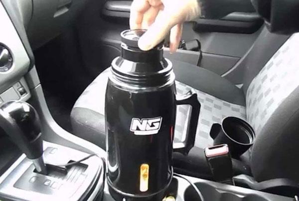 Автомобильный чайник-термос