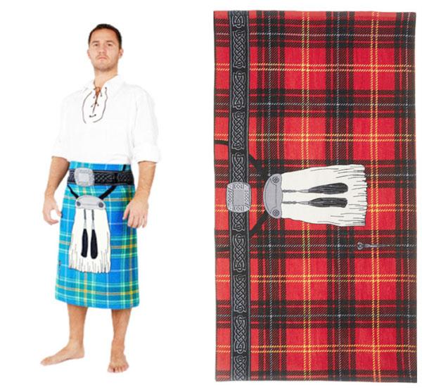 Полотенце-юбка