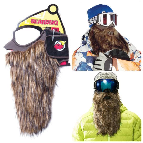 Бородатая лыжная маска