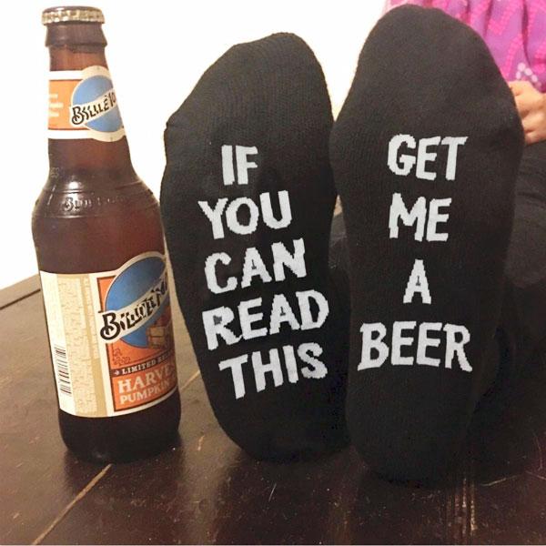 "Носки ""принеси пивка"""
