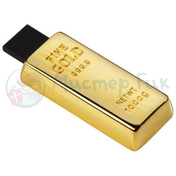 Флешка «Слиток золота»