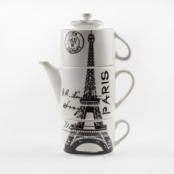 Чайный набор «Из Парижа с любовью»
