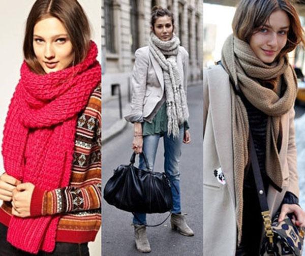 Стильный женский шарфик