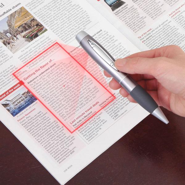 Сканер, встроенный в ручку