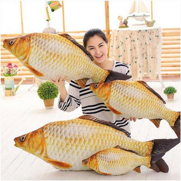 Подушка-рыба 3D