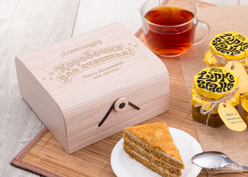 Подарочный набор мёда «Для счастья»