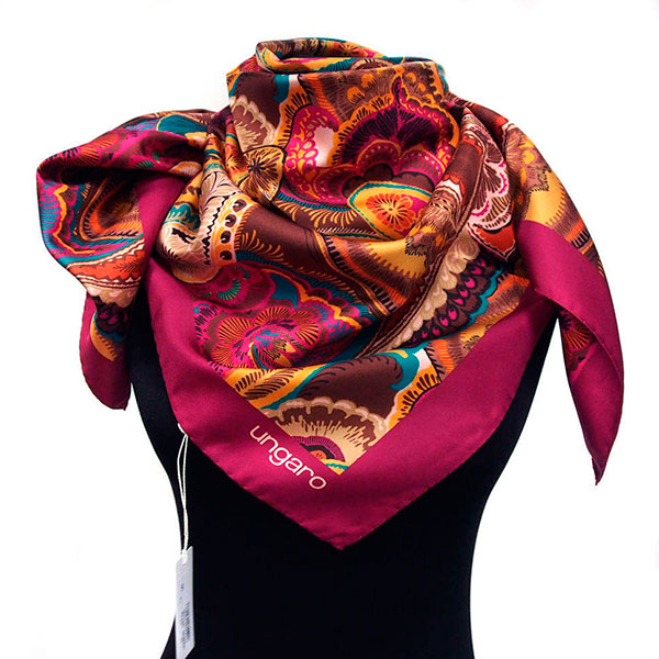 Шелковый шарф
