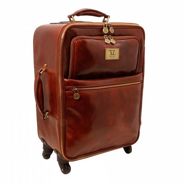 Брендовый дорожный чемодан