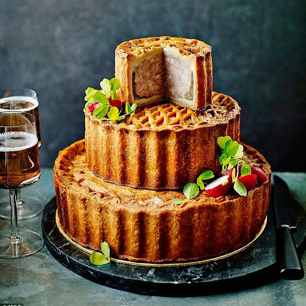 Нестандартный торт