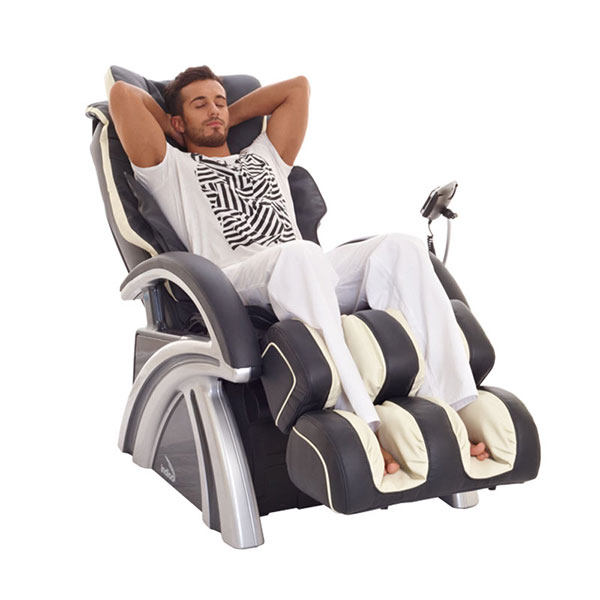 Массажное четырехроликовое кресло