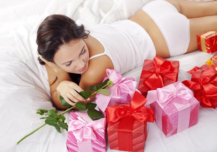 Делаем подарок женщине