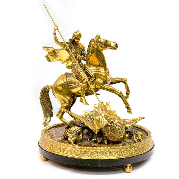 Настольную статуэтку из бронзы