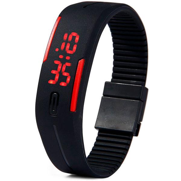 LED часы-браслет