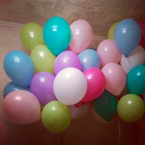 Облако воздушных шаров