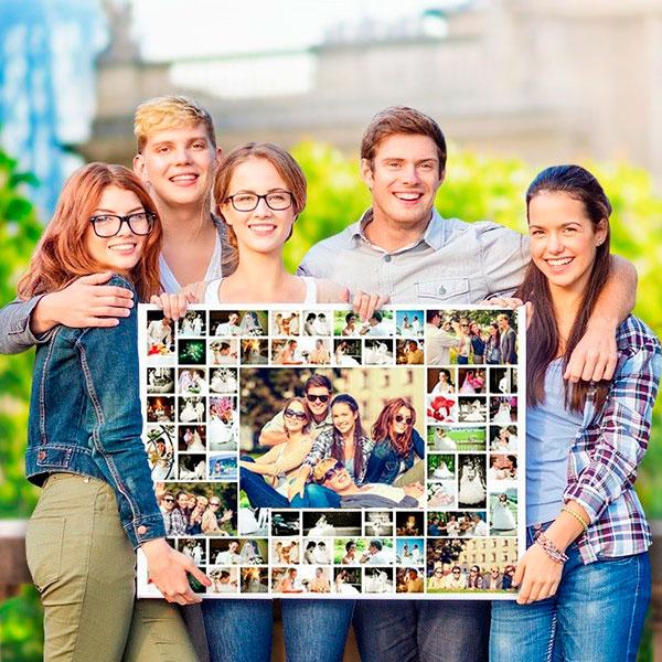 Коллаж с вашими интересными совместными фото