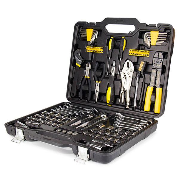 Набор инструментов в удобном кейсе