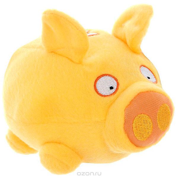 Символ года – забавная желтая свинья