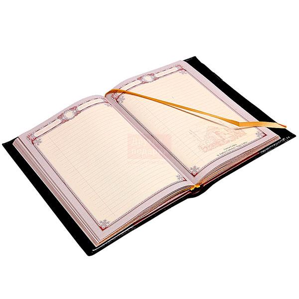 Удобный датированный кожаный ежедневник