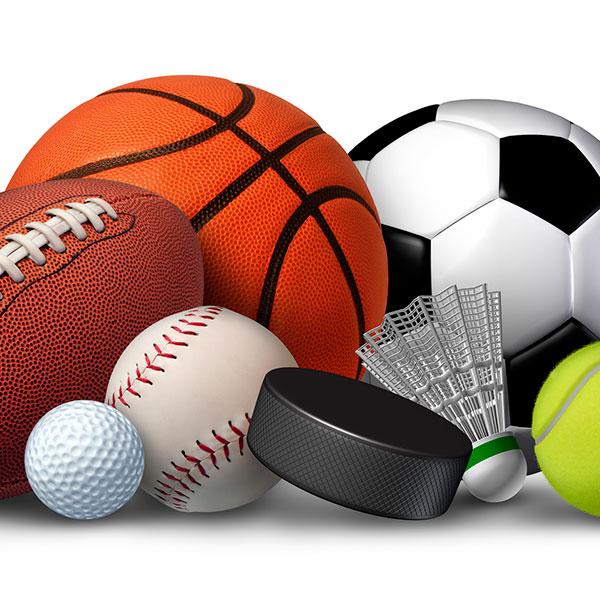 Спортивный инвентарь или спортивная форма любимой команды
