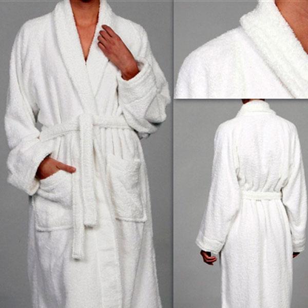 Теплый банный халат