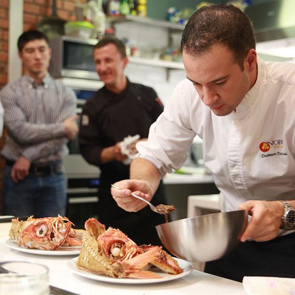 Кулинарный мастер-класс от известного шеф-повара