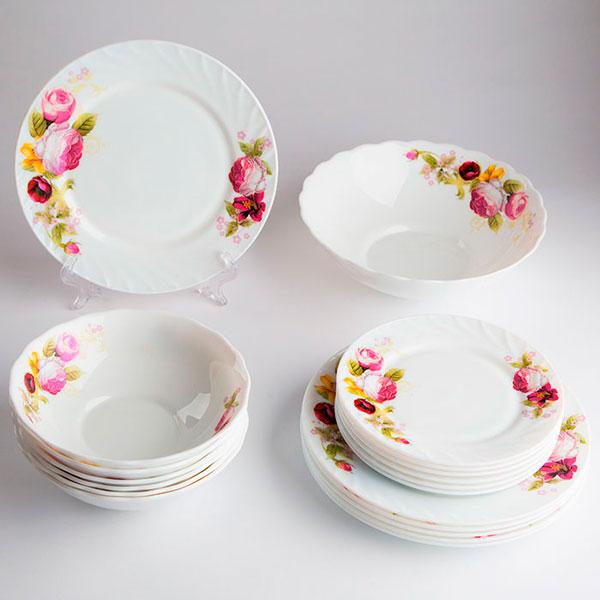 Стеклокерамические наборы посуды