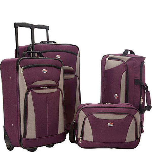 Набор удобных чемоданов для путешествий