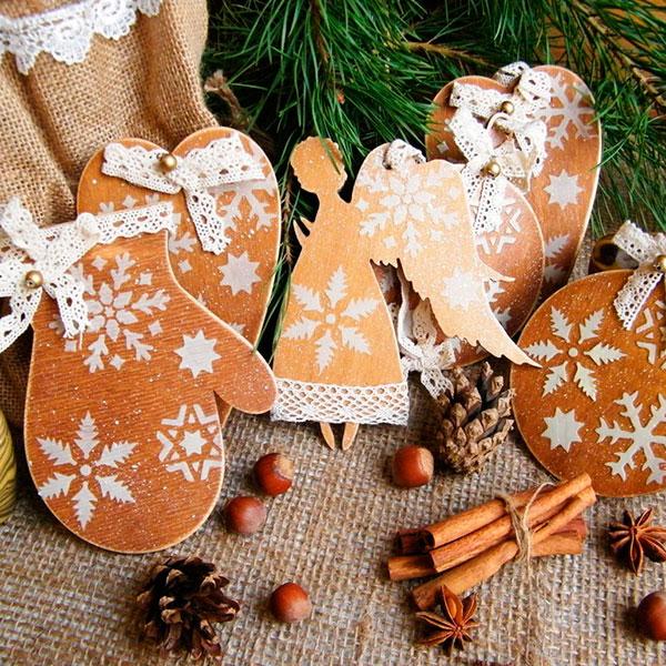 Эксклюзивные новогодние украшения для елки в собственную комнату