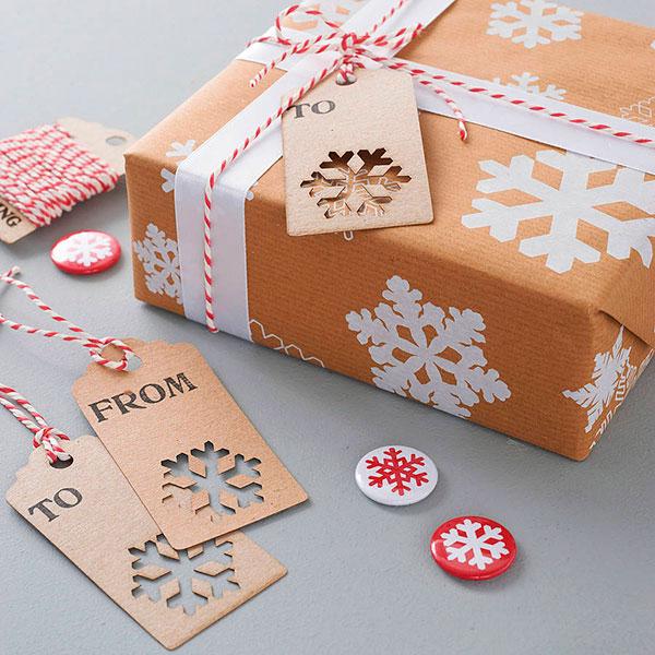 Красивое оформление для подарка