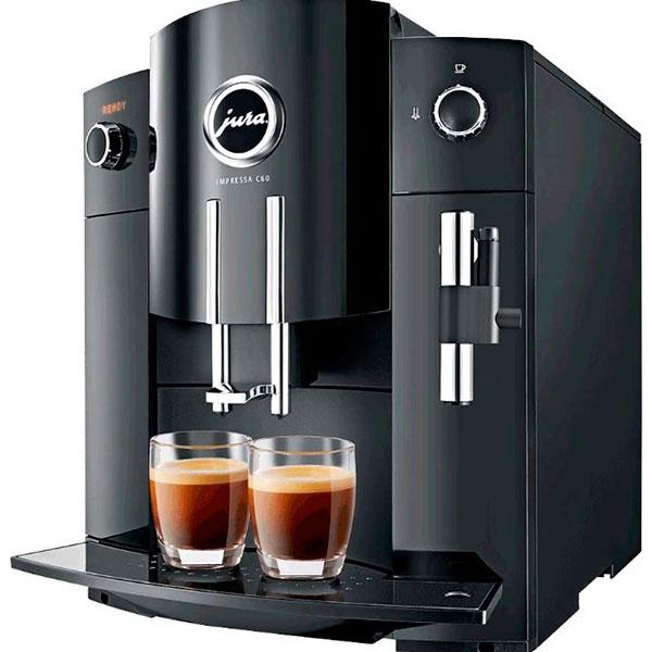 Современная навороченная кофемашина