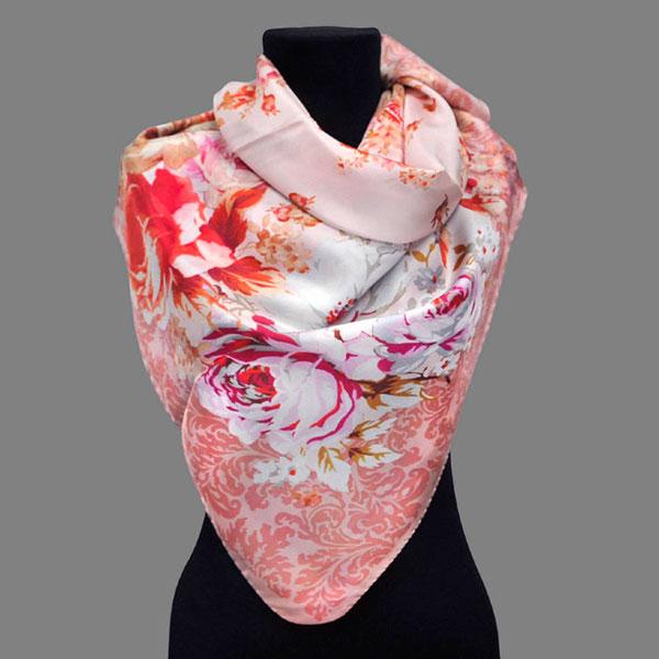 Элегантный палантин или шелковый платок