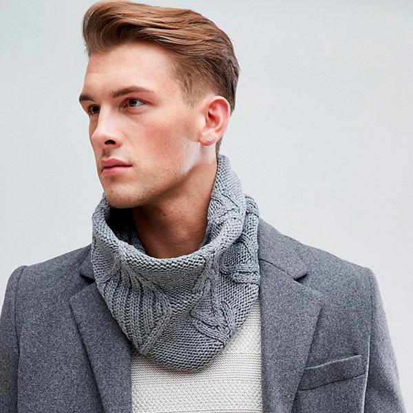 Модный шарф, а лучше снуд