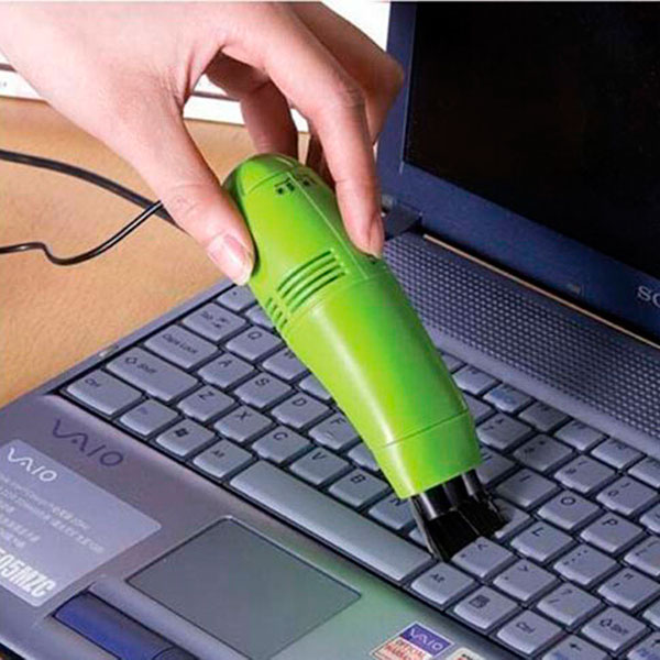 Мини-пылесос для клавиатуры