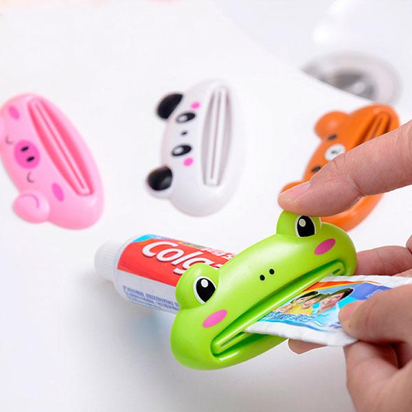 Прикольный выжиматель для зубной пасты