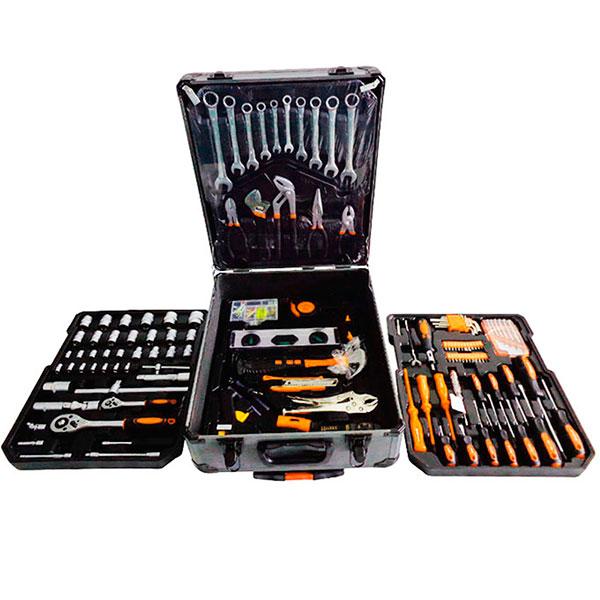 Набор современных инструментов в удобном кейсе