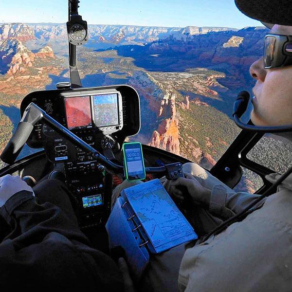Сертификат на полет с инструктором на вертолете