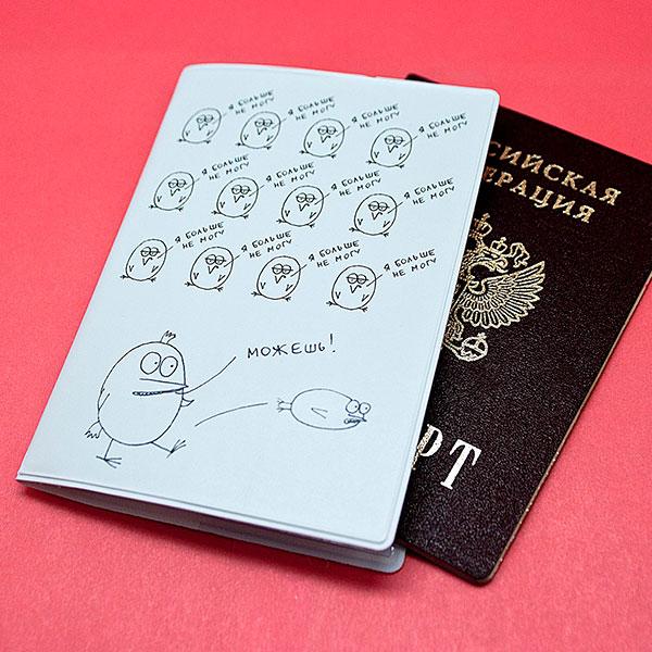 Необычная обложка для паспорта