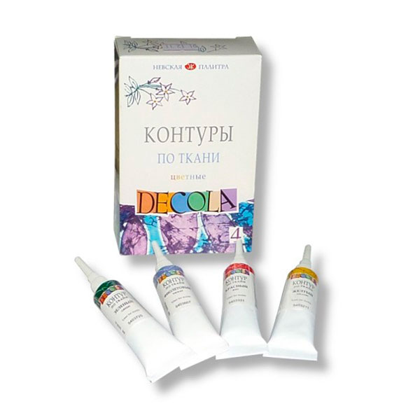 Краски для рисования по ткани, стеклу