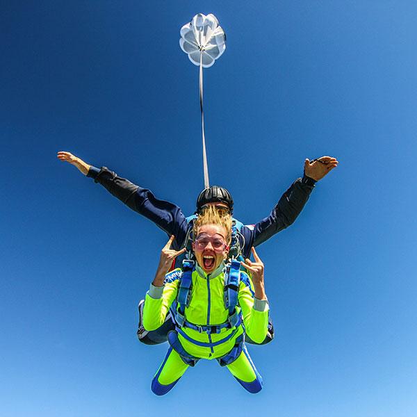 Прыжокс парашютом
