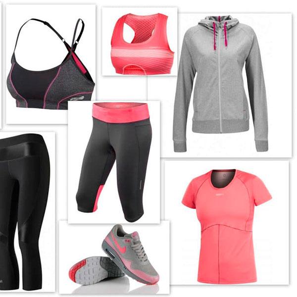Стильная одежда для спортзала