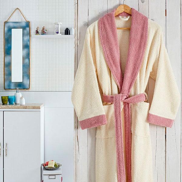 Уютный махровый халат