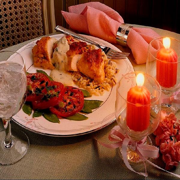 Собственноручно приготовленный ужин