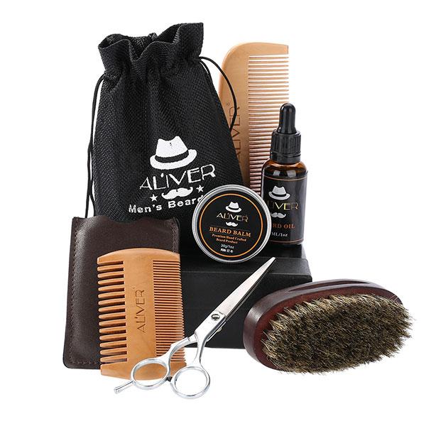 Набор инструментов, предназначенных для ухода за бородой